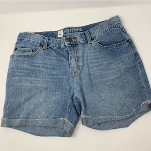 Mossimo Boyfriend Denim Shorts Size 8